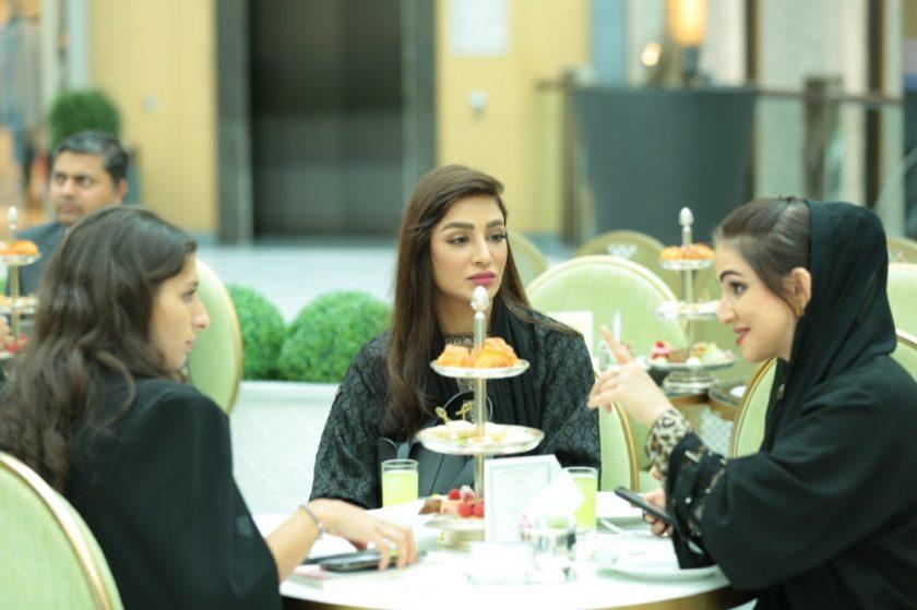 """Ladurée UAE collaborates with H.E. Dr. Sara Al Madani unveiling a new signature product """"Mango Tree Box"""""""
