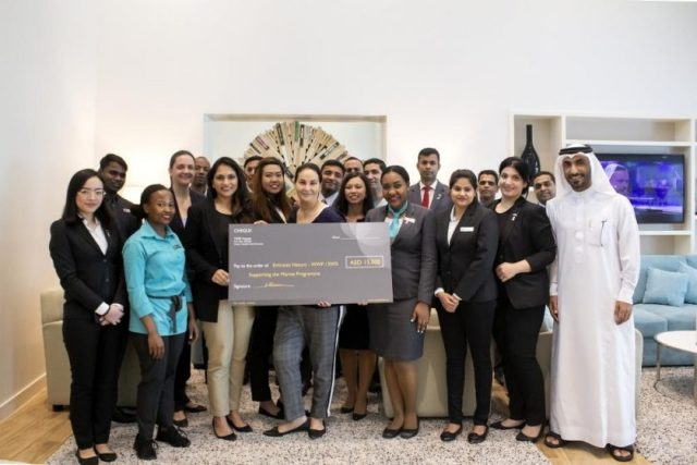 TIME Hotels raisesfunds for children's cancer hospital and Emirates Nature – WWF