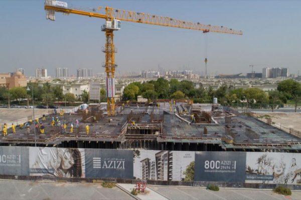 Berton in Al Furjan reaches 21% construction milestone