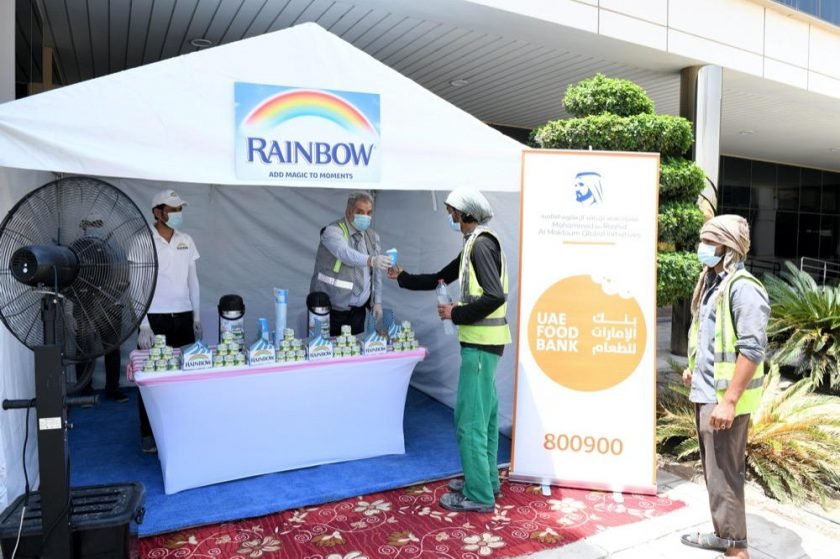 FrieslandCampina serves up support to heroic frontliners tackling COVID-19 Maker of Rainbow is sharing hot Karak tea with sanitisation workers across the UAE.