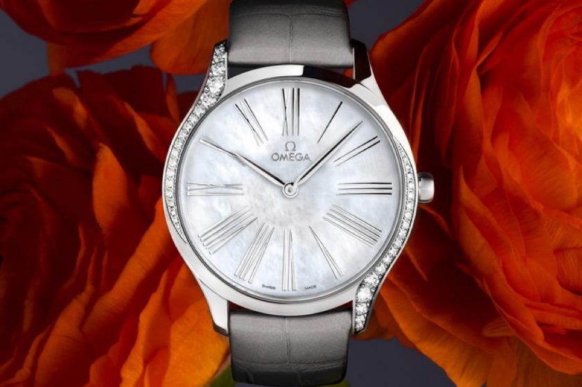 LATEST Trésor models ready-to-wear OMEGA launches the most recent editions of the diamond-edged De Ville