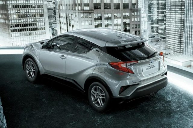 The all-new Toyota C-HR lands in the UAE