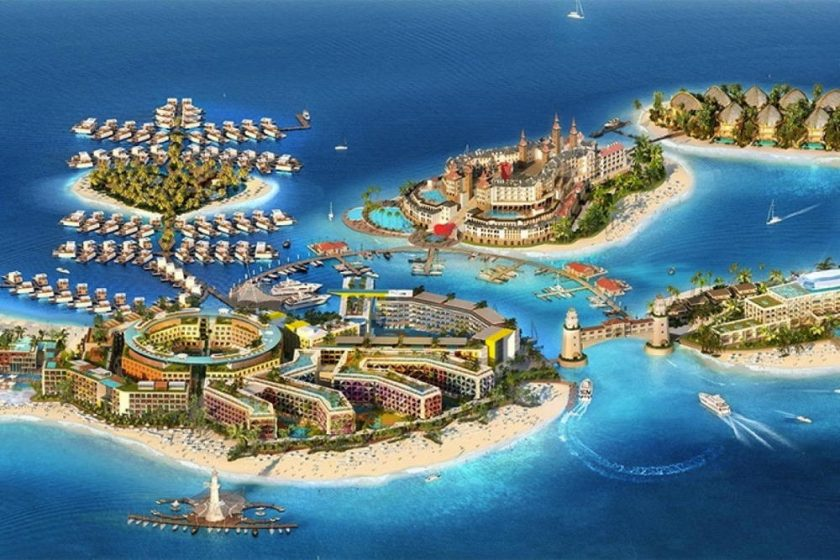 The Heart of Europe takes shape as the ultimate sustainable island tourism destination in the Middle East