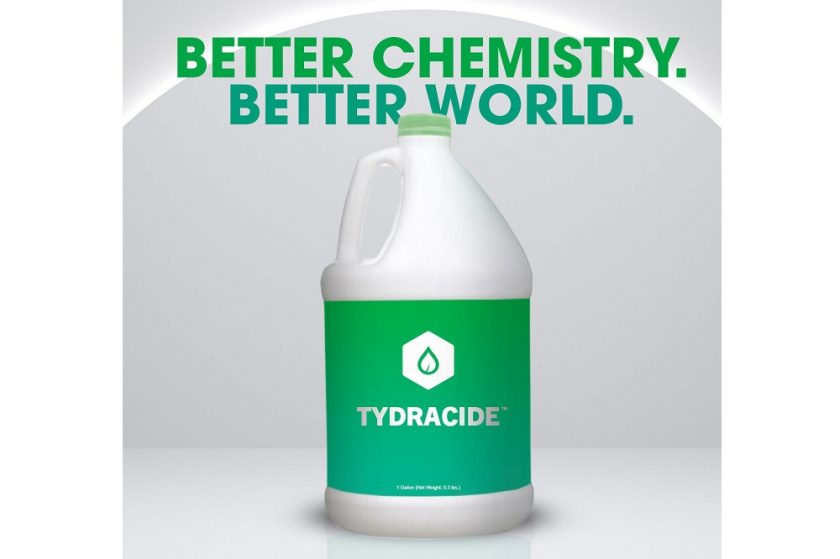 Tydracide™ Testing Shows Greater Than 99.999% Kill Rate on COVID-19 Virus in One Minute