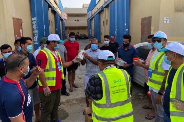 Dabur distributes care packs to support community members