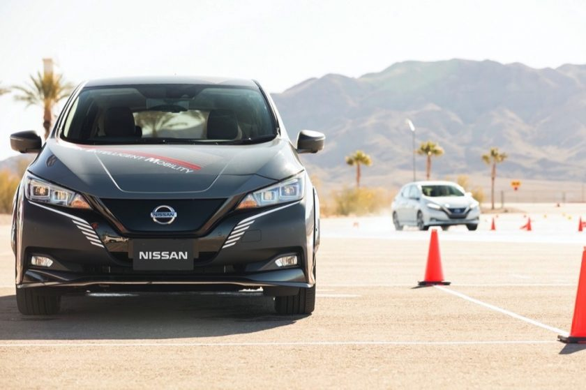 Nissan's e-4ORCE giving drivers of all levels comfort and control