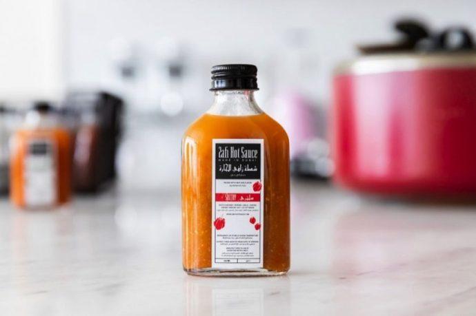 A homegrown artisanal hot sauce full of heat and flavor