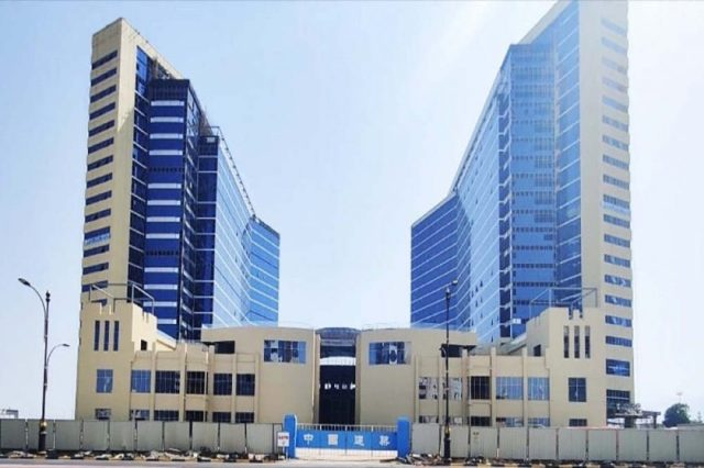 Fujairah's new mixed-use tower Al Taif Business Centre