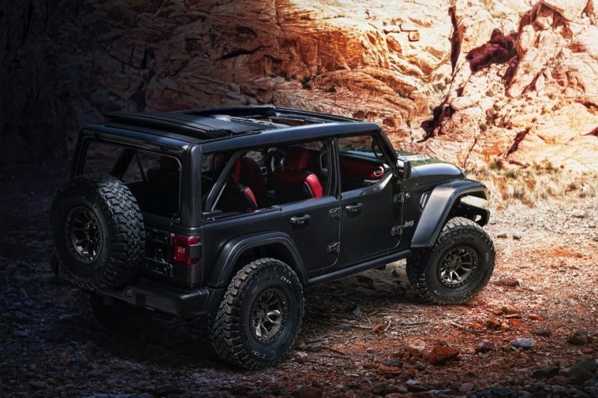 Jeep® Introduces New 6.4-liter V-8 Wrangler Rubicon 392 Concept