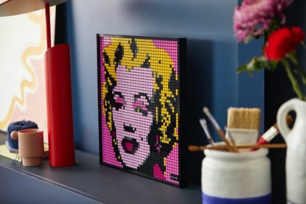 LEGO Group puts pop-art back in the picture for adult builders