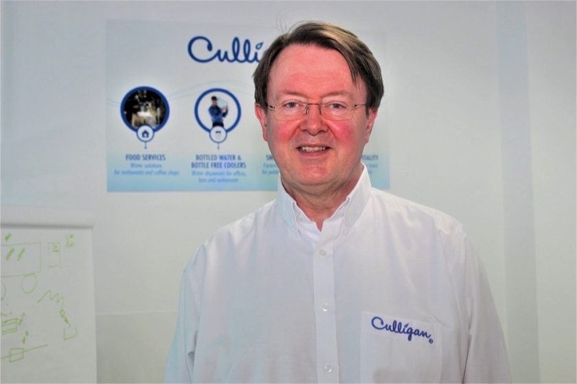 CULLIGAN RAMPS UP SANITISER PRODUCTION TO  MEET MIDDLE EAST,