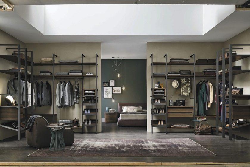 Fashionista's dream Walk-in Wardrobes by Tomasella & Zanette