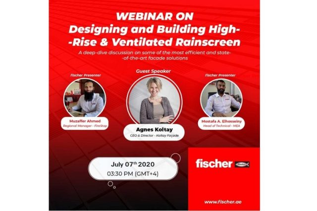 """A webinar for thought """"Designing and Building High-rise Ventilated Rainscreen Facade Systems"""" by industry experts!"""