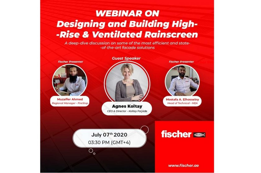 "A webinar for thought ""Designing and Building High-rise Ventilated Rainscreen Facade Systems"" by industry experts!"