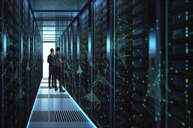 The capital value of Linesight's active M.E data centre