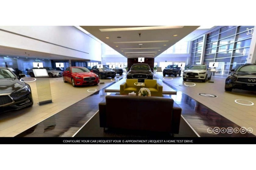 INFINITI of Arabian Automobiles shifts gears