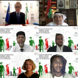 """During a webinar organized by the Italian Cultural Institute Abu Dhabi,  Zaki Nusseibeh confirms: """"UAE has managed to transform itself into a global platform for innovation which embraces talent and inspires its own youth to harness modern science and technology for the good of humanity"""""""