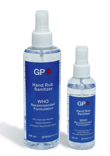 Globalpharma launches UAE made hand sanitizer
