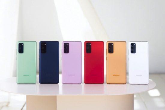 Samsung announces availability of the Galaxy S20 FE