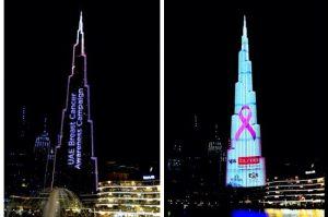 Burj Khalifa Shines in Pink in Biggest Worldwide Visual Campaign