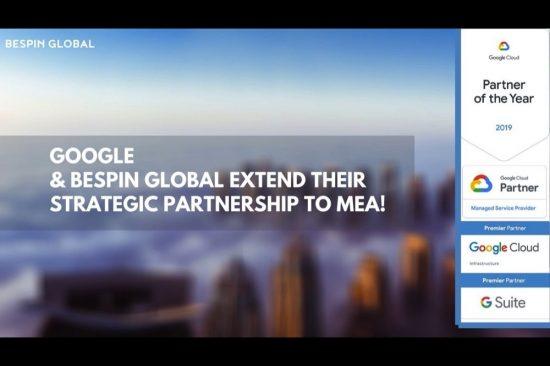 Bespin Global MEA Becomes A Google Cloud Platform (GCP)
