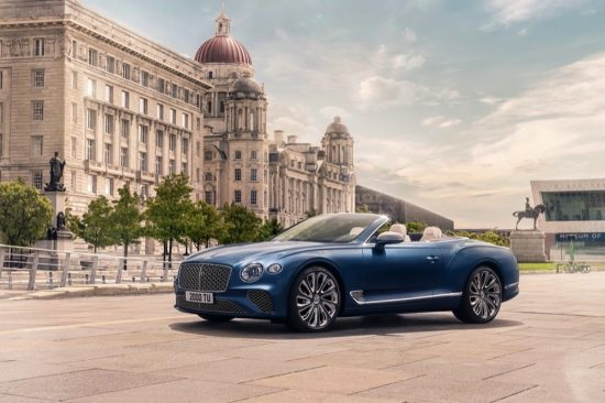 ST TROPEZ DEBUT FOR THE NEW CONTINENTAL GT MULLINER CONVERTIBLE