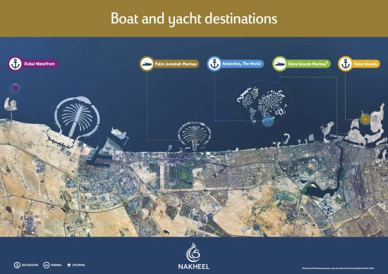 Nakheel sets sail with new destinations for UAE boating