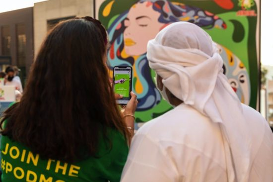 Ariel Middle East Hosted PodArt Over the Weekend