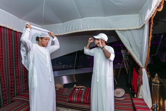 UFC Ortega gets a taste of UAE heritage