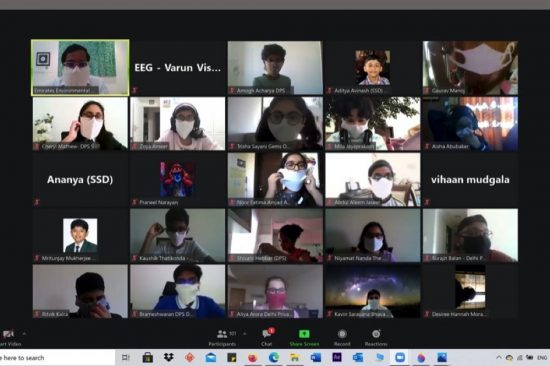 EEG Conducts its annual Students' Workshops virtually