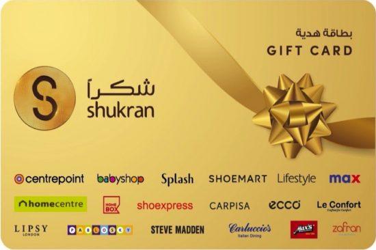 Landmark Group Launches All-new Shukran Gift Card