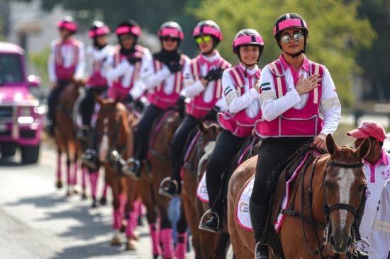 Pink Caravan Ride 2021 offers UAE community novel ways