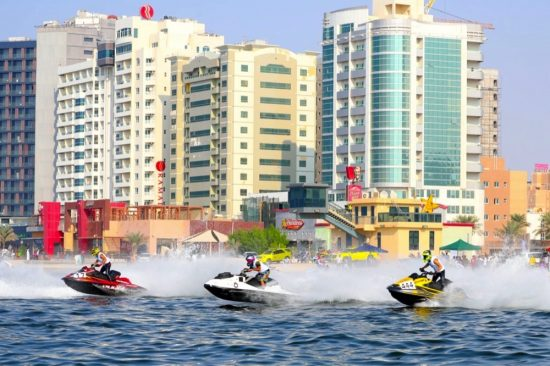 Ajman Tourism hosts Jet Ski Marathon for professionals and beginners