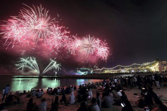 Ajman Sky to be LIT on New Year's Eve