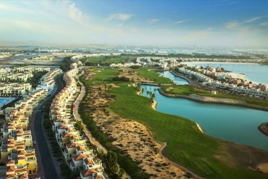 Stay at Amwaj by Al Hamra to enjoy spectacular views