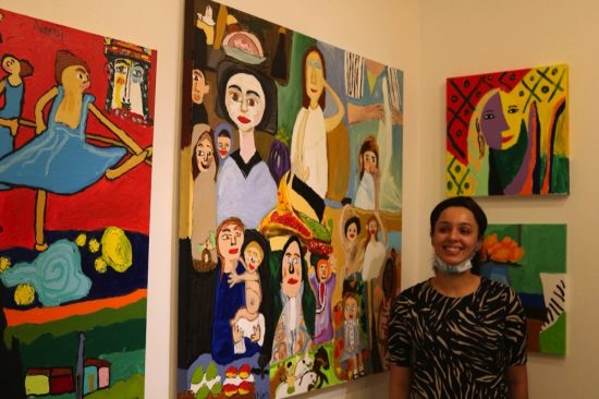 Mawaheb From Beautiful People holds exhibition for its artists