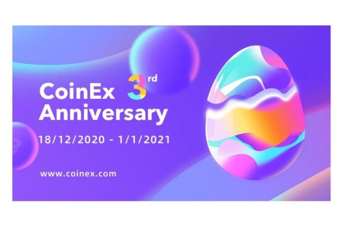 CoinEx Celebrates Third Anniversary With Overall System and Product Upgrade