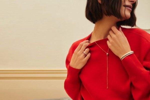 BOUCHERON LAUNCHES NEW QUATRE RED TIE-NECKLACE