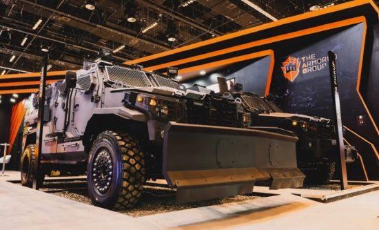 """شركة أرمورد جروب تطلق أحدث مركباتها، شاحنة """"بات يو إم جي"""""""