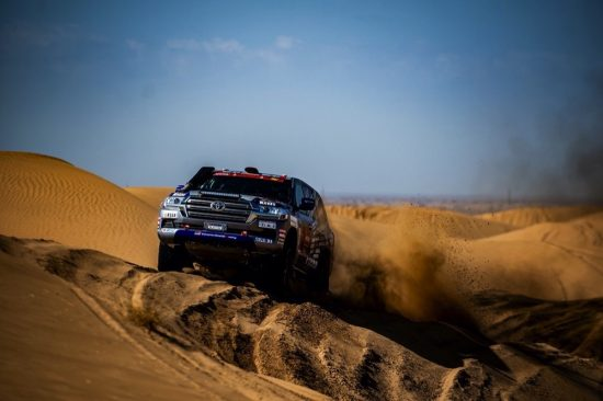 Toyota celebrates another outstanding performance at Dakar 2021