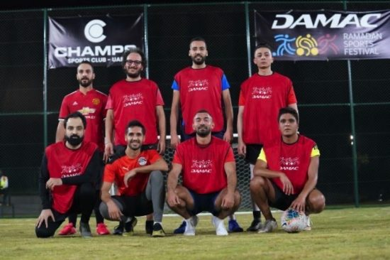 DAMACProperties kicked off its Ramadan Sports Festival