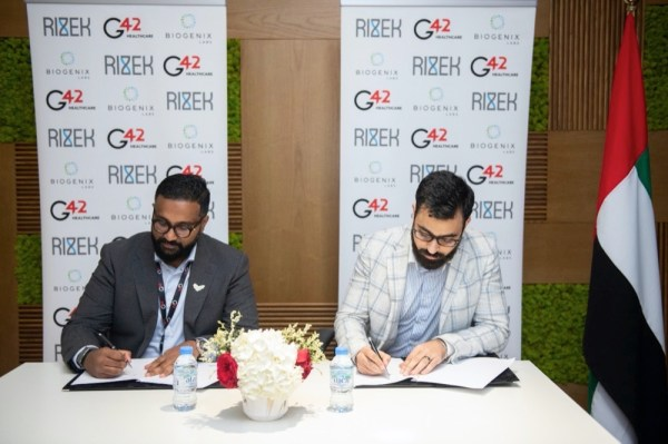 Rizek's ground-breaking partnership with G42