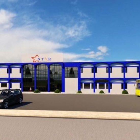افتتاح مبنى مدرسة في Star International School Al Twar