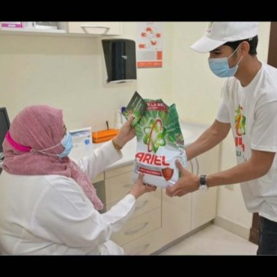 المستشفيات السعودية تتلقى مليون غسلة من منتجات تنظيف الملابس
