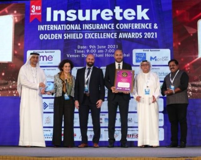 CME recognized as a category winner at INSURETEK Middle East