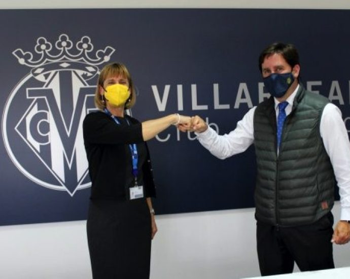 ISP launches a football school programme in Spain with Villarreal