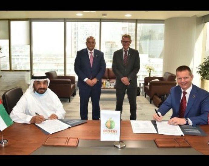 Signinglong term Partnership Agreement between Mawarid