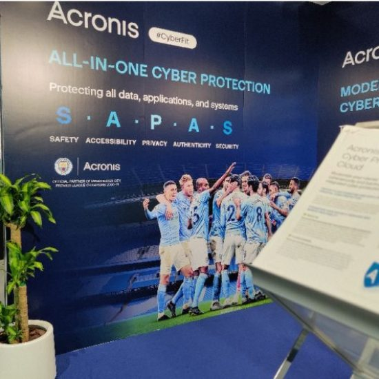 Acronis cyber protection ensures the data security of Europe's current football champions