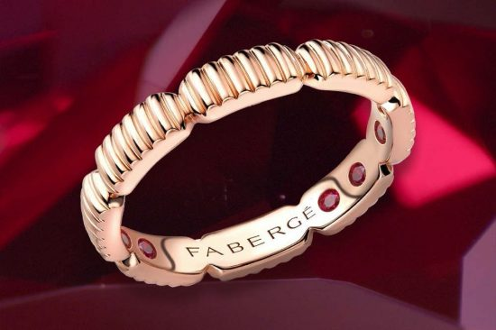 Fabergé Introduces the Colours of Love Healing Rings