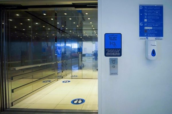 Abu Dhabi Airports introduces first-of-its-kind touchless elevator technology